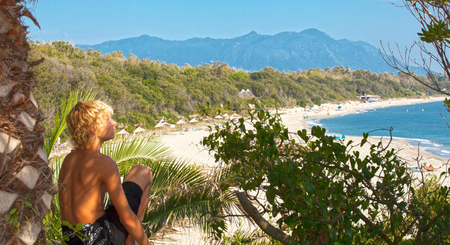 Naturist Beach Corsica Holiday Resort One Of The Largest Beaches In France